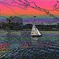 Sailing South Lake Union by Tim Allen