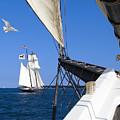 Sailing The Atlantic by Bernard Fairclough