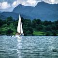Sailing The Lakes by Lance Sheridan-Peel