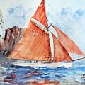 Sailing The Open Sea... by Faruk Koksal