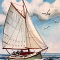Sailing Through Open Waters by Elizabeth Robinette Tyndall