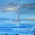 Sailing Through The Storm by Lana Fultz