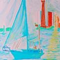Sailing Toronto, Canada by Stanley Morganstein