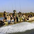 Sailors Racing Along The Euphrates by Stocktrek Images