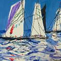 Sails IIi by Guanyu Shi