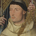 Saint Ambrose With Ambrosius Van Engelen   by PixBreak Art