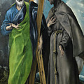Saint Andrew And Saint Francis by El Greco