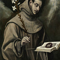 Saint Anthony Of Padua by El Greco
