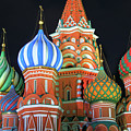 Saint Basils Cathedral On Red Square, Moscow by Lars Ruecker