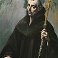 Saint Benedict by El Greco