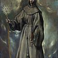 Saint Bernard by El Greco