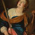 Saint Cecilia by Bernardo Strozzi