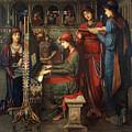 Saint Cecilia by John Melhuish Strudwick