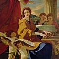 Saint Cecilia by Nicolas Poussin