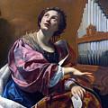 Saint Cecilia by Simon Vouet