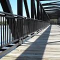 Saint Charles Walking Bridge by Ginger Repke