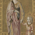Saint Dorothy And The Infant Christ by PixBreak Art