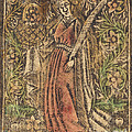 Saint Dorothy by Workshop Of Master Of The Aachen Madonna