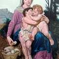 saint family after W. Bouguereau by Hidemi