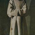 Saint Francis by Francisco de Zurbaran