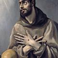 Saint Francis In Ecstasy by El Greco