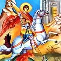 Saint George Fight by Munir Alawi