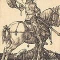 Saint George On Horseback by Albrecht D?rer