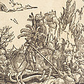 Saint George Slaying The Dragon by Albrecht Altdorfer