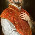 Saint Ignatius by Peter Paul Rubens