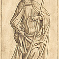 Saint James The Less by Israhel Van Meckenem After Master E.s.