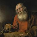 Saint Jerome by Abraham van Dijck