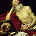 Saint Jerome by Antonio Pereda y Salgado