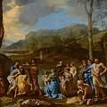 Saint John Baptizing In The River Jordan by Mountain Dreams