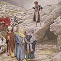 Saint John The Baptist And The Pharisees by Tissot