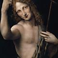 Saint John The Baptist,  Circa 1505 by Leonardo Da Vinci