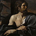 Saint John The Baptist In Prison Visited By Salome by Guercino