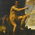 Saint John The Baptist In The Wilderness by Giovanni Baglione