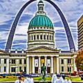 Saint Louis Icons by Dennis Cox