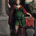 Saint Lucy by Benvenuto Tisi