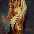 Saint Margaret Slaying The Dragon by Antoine Auguste Ernest Herbert