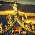 Saint Marks Basilica Facade  by Harry Spitz