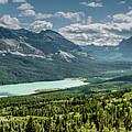 Saint Mary Lake Panorama by Teresa Wilson