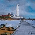 Saint Mary's Lighthouse by Neal Crossan