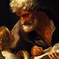 Saint Matthew 1621 by Reni Guido