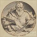 Saint Matthew by Jacques De Gheyn Ii