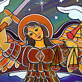 Saint Michael - San Miguel by Jan Oliver-Schultz