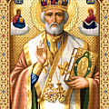 Saint Nicholas by Stoyanka Ivanova