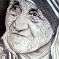 Mother Teresa Saint Of Calcutta  by Jevie Stegner