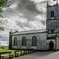 Saint Patricks Church On The Hill Of Tara by Teresa Wilson