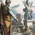 Saint Paul At Athens by Granger